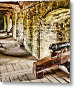 Cannons Of Dover Metal Print