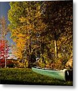 Canoe Metal Print by Cale Best