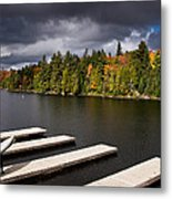 Canoe Lake Metal Print