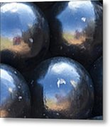 Canon Balls Metal Print