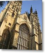 Canterbury Cathedral, Low Angle View Metal Print