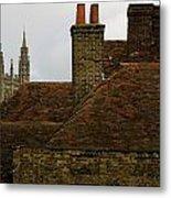 Canterbury Rooftops Metal Print