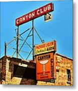 Canyon Club Route 66 Williams Arizona Metal Print