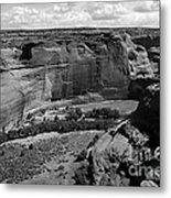 Canyon De Chelly White House Metal Print by Barry Shaffer