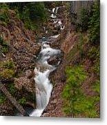 Canyon Stream Metal Print by Mike Reid
