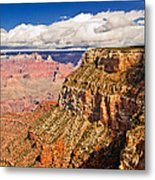 Canyon View Iv Metal Print