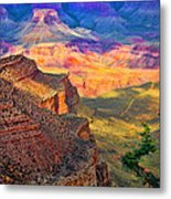 Canyon View Metal Print