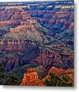 Canyon View X1 Metal Print