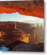 Canyonlands Sunrise Metal Print