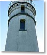 Cape Blanco Light Metal Print