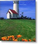 Cape Blanco Lighthouse Oregon Metal Print