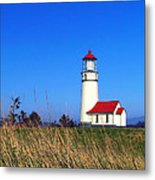 Cape Blanco Lighthouse Metal Print