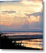 Cape Cod Beach Brewster Metal Print