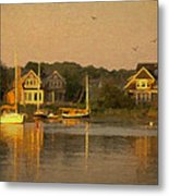 Cape Cod Evening Metal Print by Michael Petrizzo