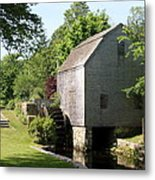 Cape Cod Water Mill Metal Print