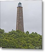 Cape Henry Light - Old Metal Print