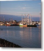 Cape May Fishing Boats Metal Print