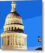 Capitol Dome Color 10 Metal Print by Scott Kelley