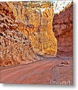 Capitol Gorge Trail At Capitol Reef Metal Print