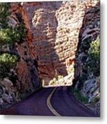 Capitol Reef National Park Road Metal Print