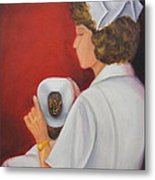 Capping A Tradition Of Nursing Metal Print