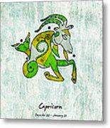 Capricorn Artwork Metal Print