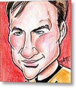 Captain James T. Kirk Metal Print by Big Mike Roate