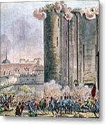 Capture Of The Bastille Metal Print by Granger