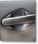 Car Door Handle Metal Print