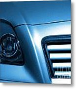 Car Face Metal Print