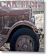 Car Museum Metal Print