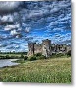 Carew Castle Pembrokeshire 3 Metal Print