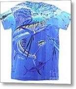 Carey Chen Mens Sailfish Shirt Metal Print