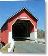 Carlton Covered Bridge Metal Print