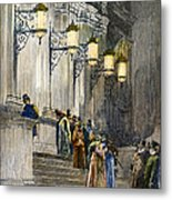 Carnegie Hall, 1891 Metal Print