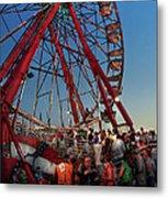 Carnival - An Amusing Ride  Metal Print