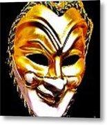 Carnival Mask 2 Metal Print