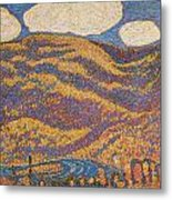 Carnival Of Autumn Metal Print by Marsden Hartley