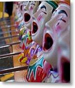 Carnival Of Clowns Metal Print