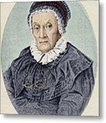 Caroline Herschel Metal Print