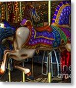 Carousel Beauties Going Away Metal Print