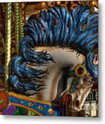 Carousel Beauty Star Of The Show Metal Print