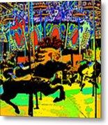 Carousel Colors Metal Print