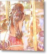 Carousel Dream Metal Print