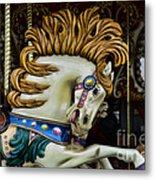 Carousel Horse - 4 Metal Print