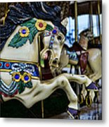 Carousel Horse 5 Metal Print by Paul Ward