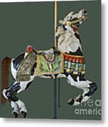 Carousel Paint Horse Metal Print