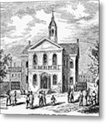 Carpenters Hall, 1855 Metal Print