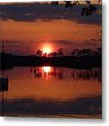 Carrabelle Sunset Metal Print