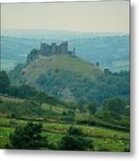 Carreg Cennen Castle Metal Print
